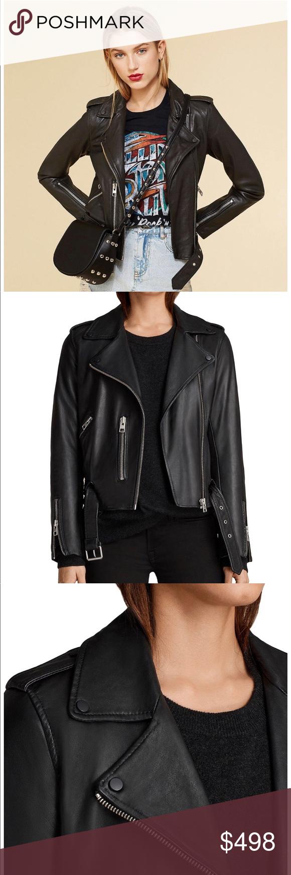 41ddbfdaf NWT All Saints Balfern Leather Biker Jacket Brand New With Tags! All ...