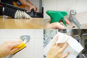 Badezimmer Putzen ~ Verschiedene arbeiten bei der badreinigung haushalt pinterest