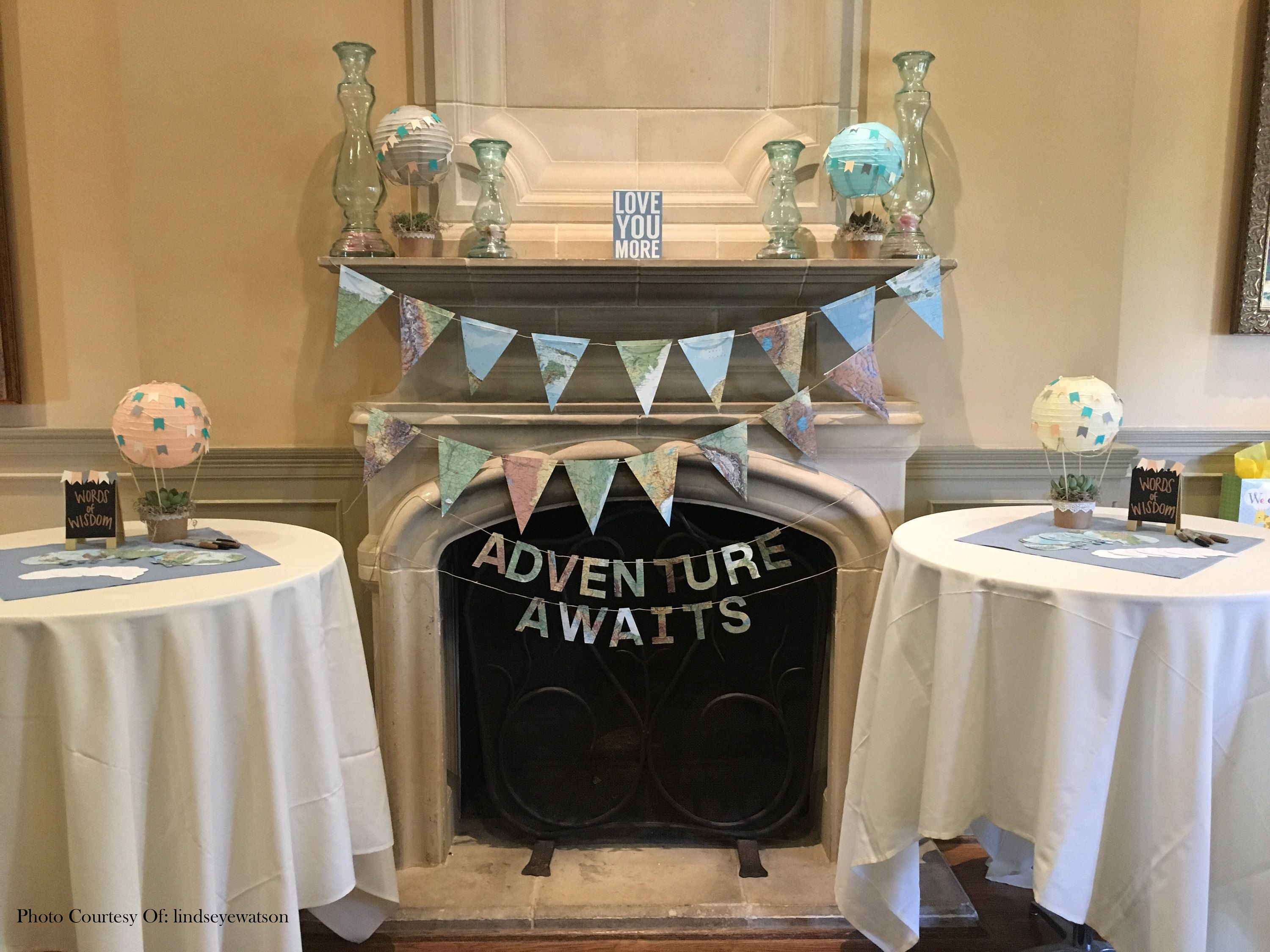 Vintage Maps Globes And Hot Air Balloons Are A Perfect Way To
