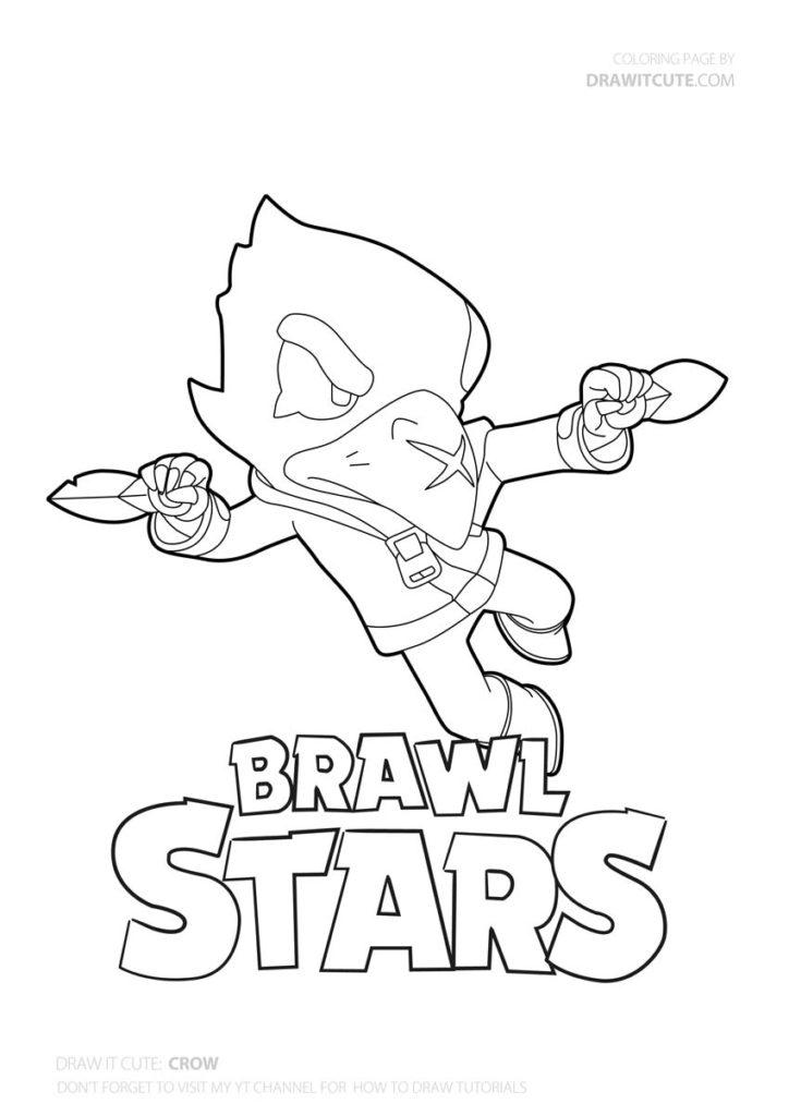 Craw From Brawl Stars Coloring Page Brawlstars Brawlstarsmemes