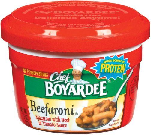 Chef Boyardee Beefaroni Microwavable Bowls Pack Of