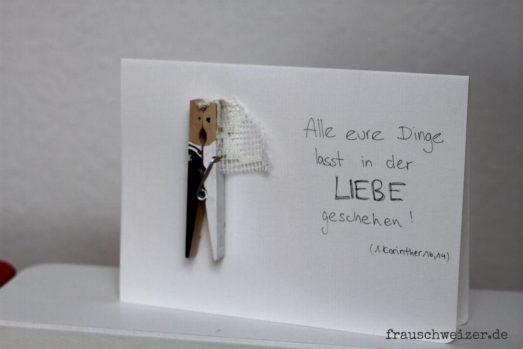Handgemachte Karten zum Nachbasteln von FrauSchweizer
