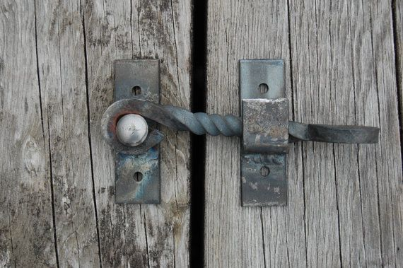 Metal Gate Cabinet Latch By Palandermetalworks On Etsy 30 00