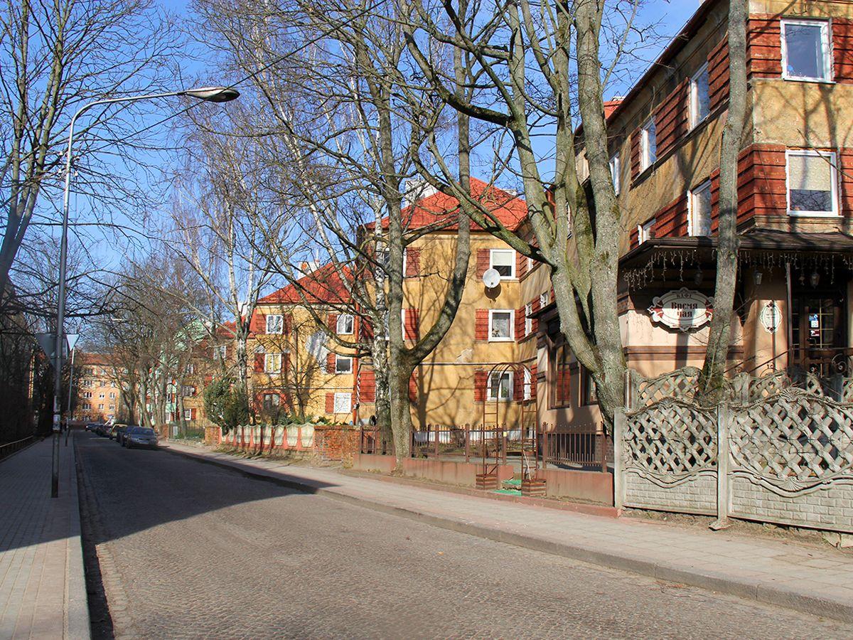 Дома на улице Маяковского