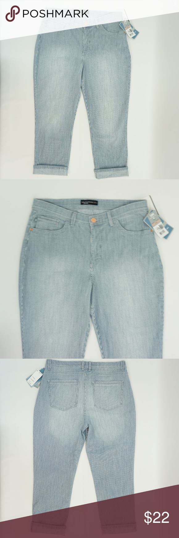 Lee Platinum Cameron Cropped Jeans Black 2