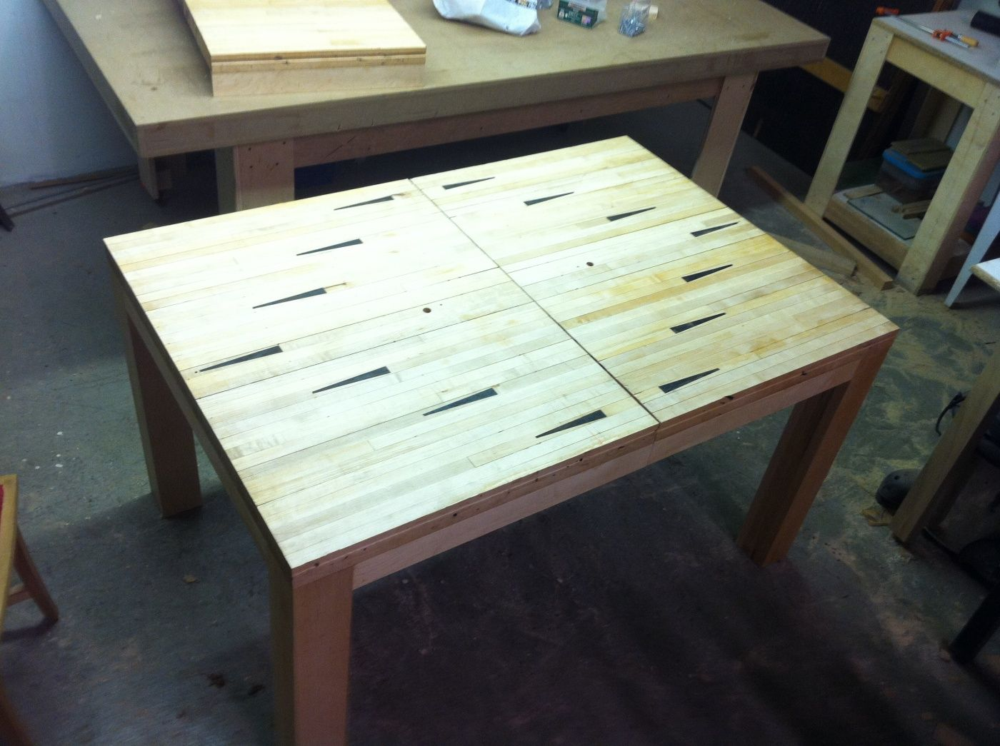 More Furniture Made From Reclaimed Bowling Lanes