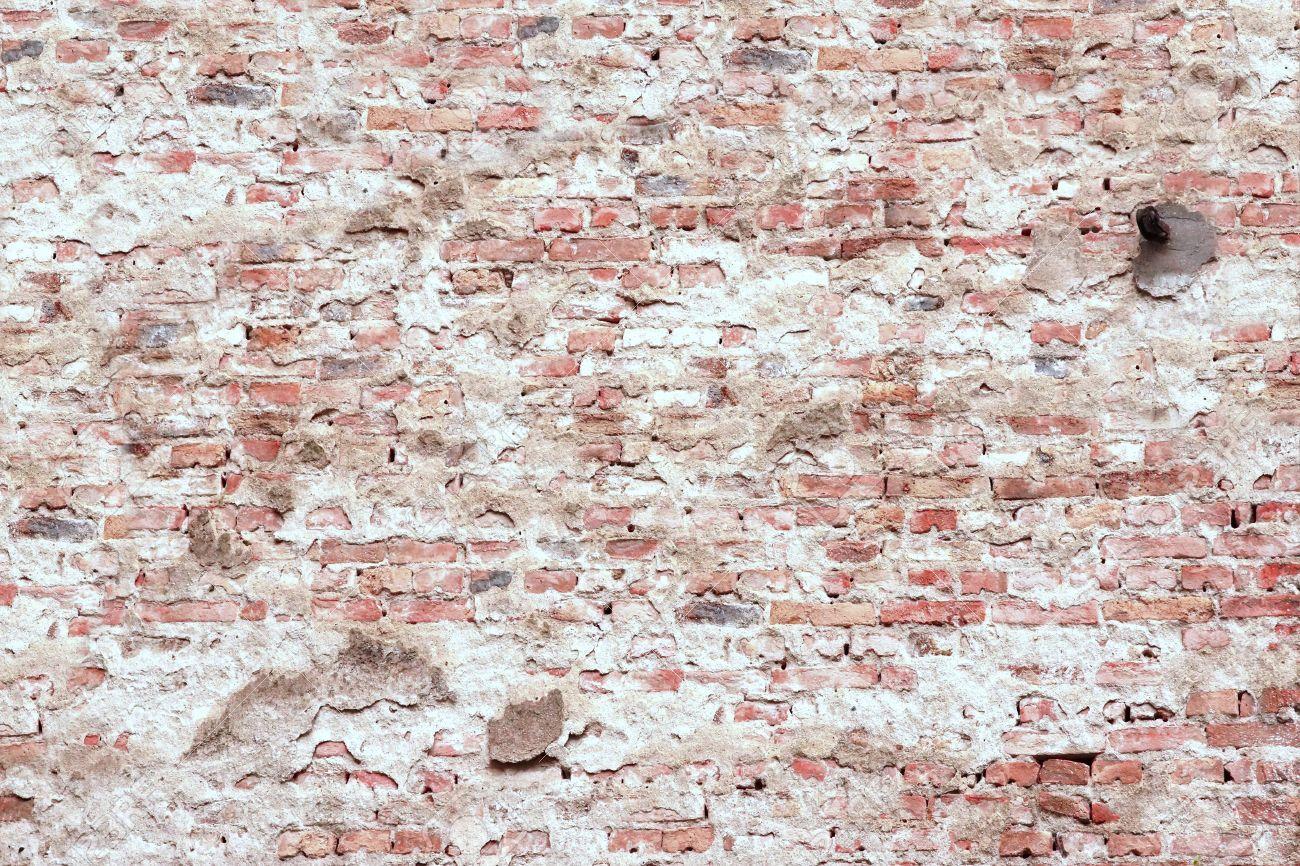 New Maroon Brick Wall