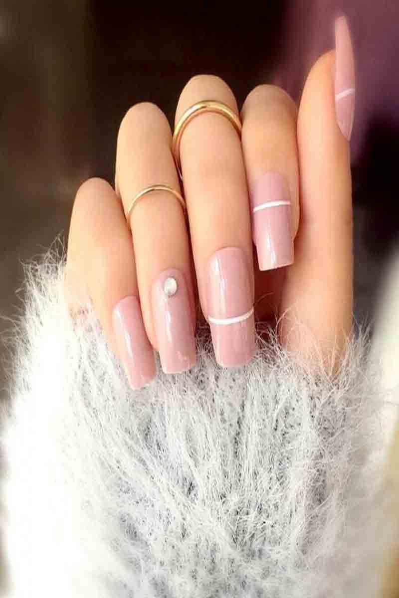 Top 50 Natural Short Nails Design 8 Mauve Nails Simple Acrylic Nails Glue On Nails