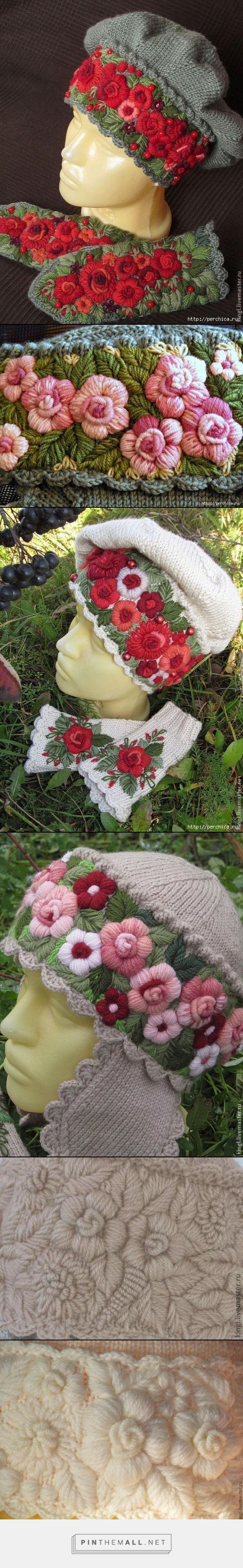 Beautiful embroidered knitting ~~ http://www.liveinternet.ru/users/3344739/post317465962/