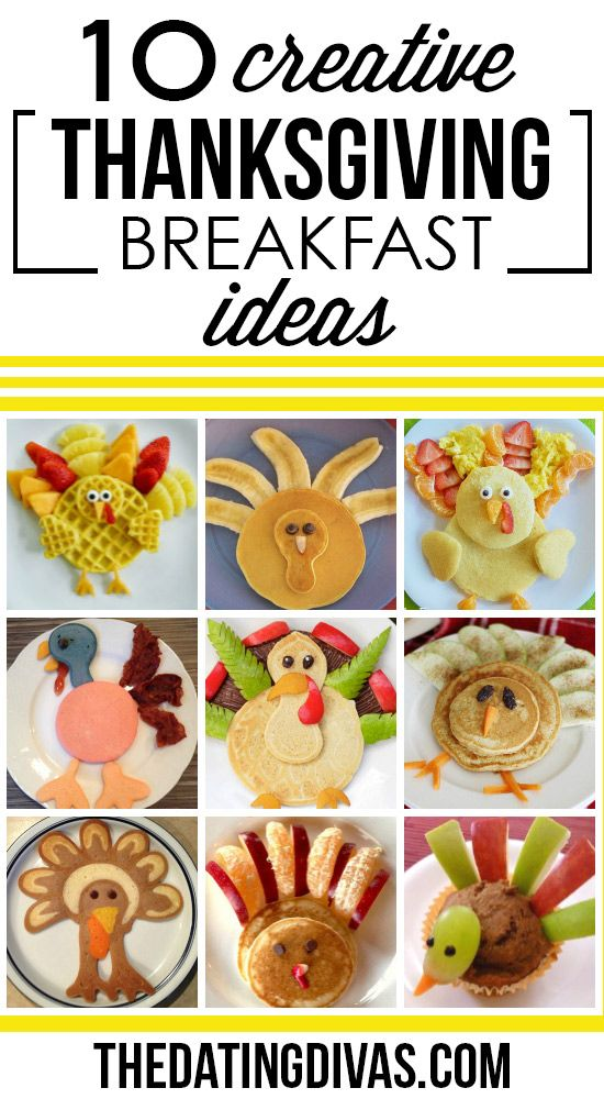 50+ Fun Thanksgiving Food Ideas & Turkey Treats #thanksgivingfood