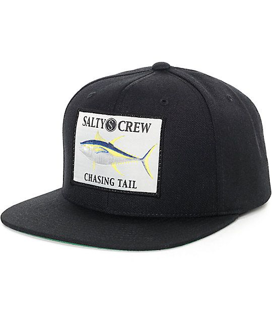 Put out a salty vibe with the Ahi black snapback hat for guys that has a 8a241038916
