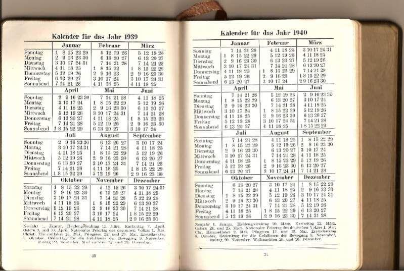 120260d1278717108 German 1940 Journal Calendar Propoganda
