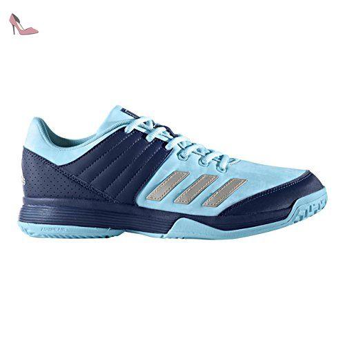 adidas Ligra 5, Chaussures de Volleyball Mixte Adulte, Bleu Mystery