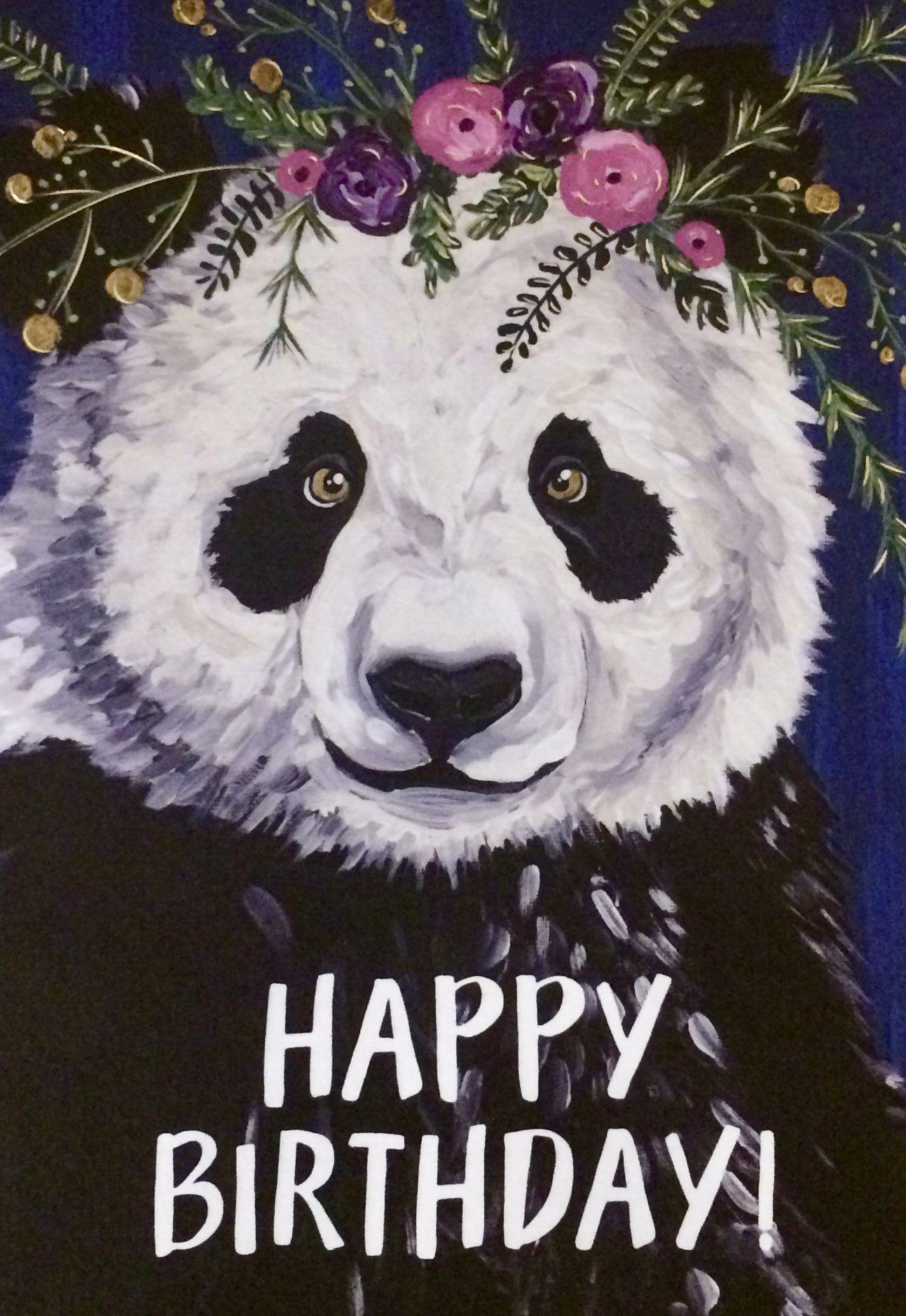 Happy Panda to you Happy Birthday Wishes