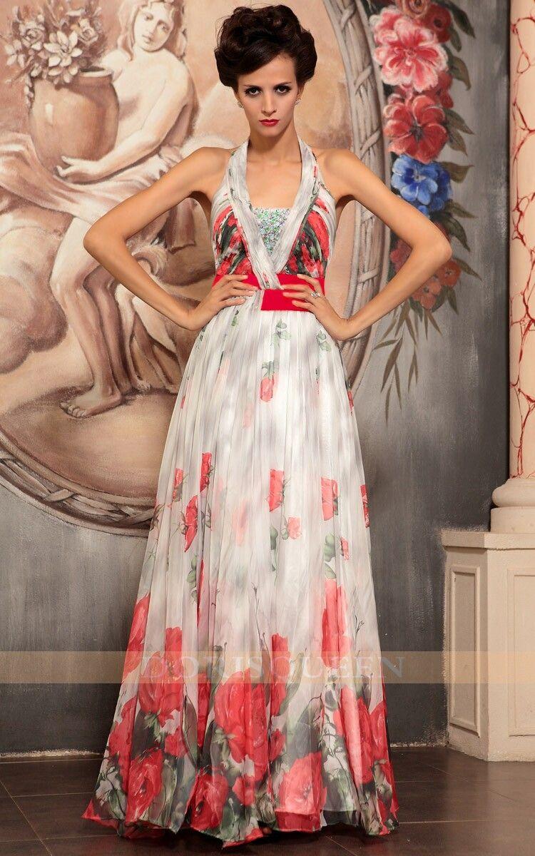 Dorisqueen drop shipping halter printed evening dresses long ,cocktail dresses 2013
