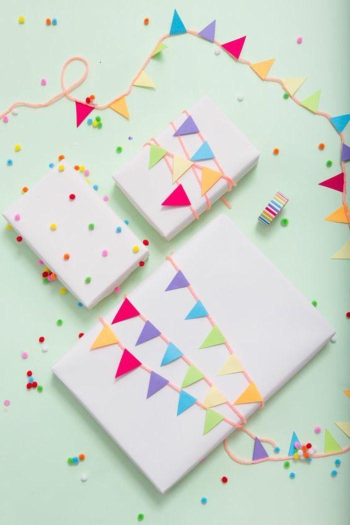 ▷ 80 Ideen wie Sie Geschenke schön verpacken mit Anleitung #geschenkideen
