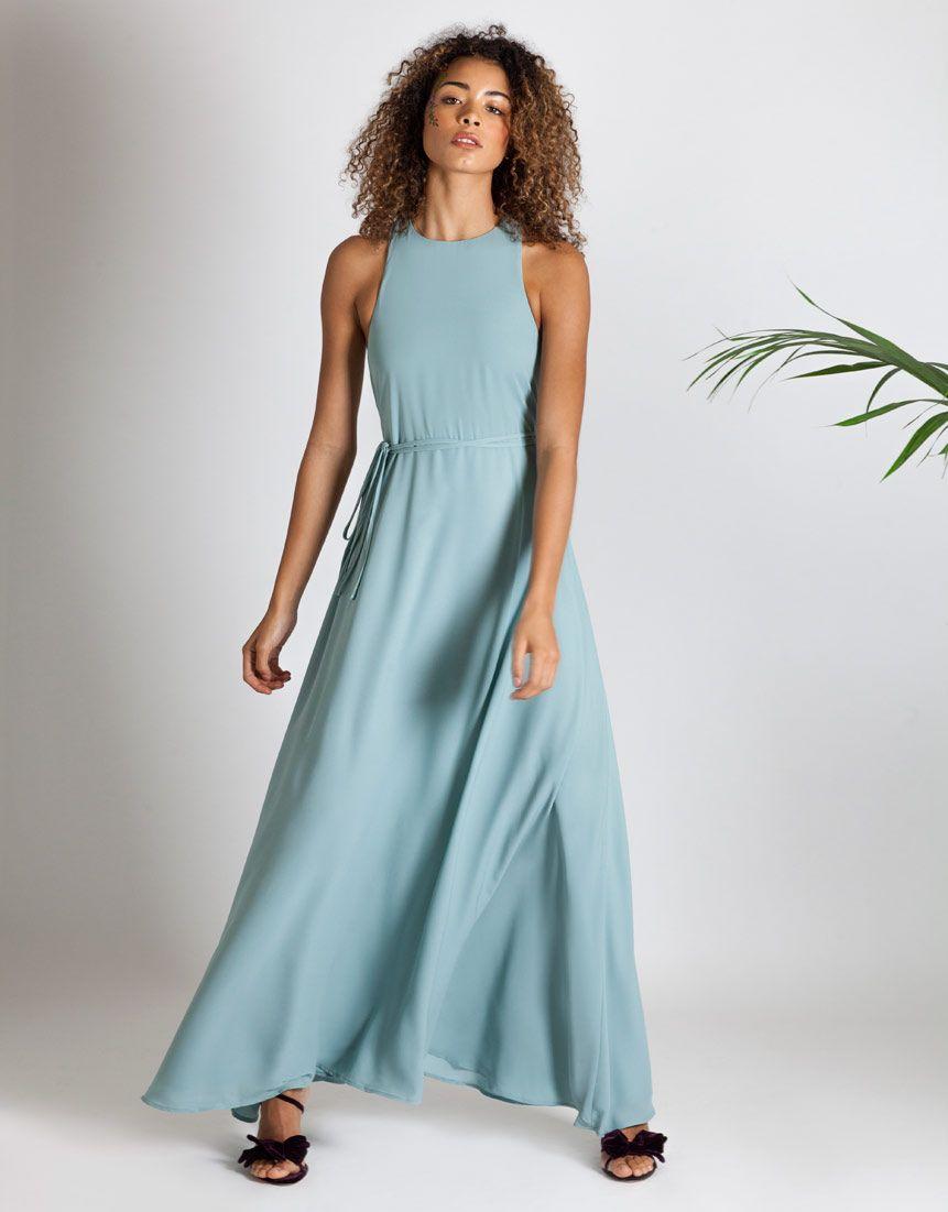 Vienna-racer-back-dress-marine-bridesmaid-0   Sage Maids   Pinterest ...