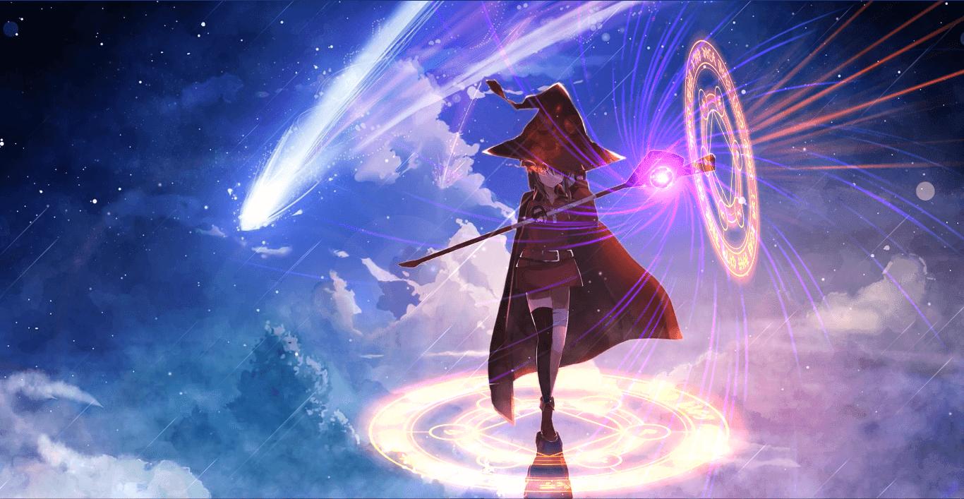 Anime Wallpaper Engine Download めぐみん イラスト, このすば, イラスト