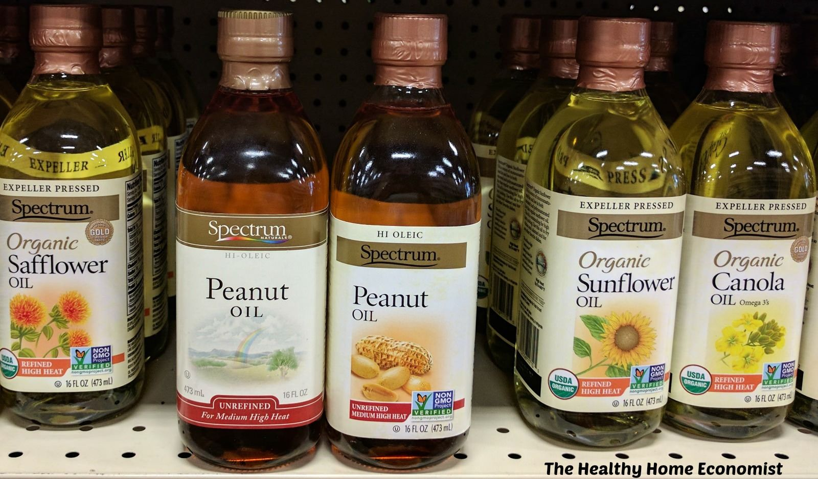 Peanut Oil Compared To Other Fats Healthy Home Economist Peanut Oil Best Cooking Oil Coconut Oil For Acne