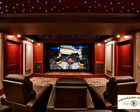 Beautiful Home Movie Room Decor