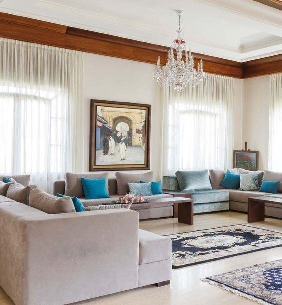 Galerie de modèles de salon marocain et plus espace deco