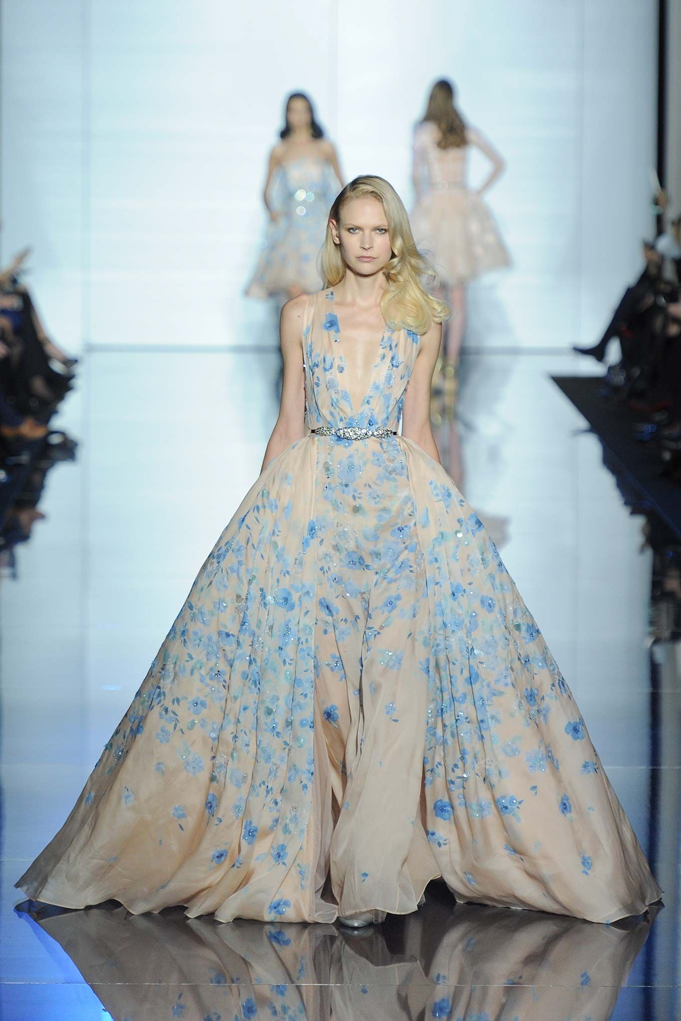 Zuhair Murad Spring 2015 Couture ❤ - Worn by Petra Nemcova at the ...