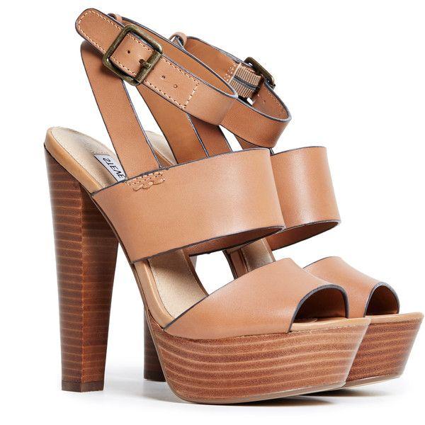 c123edb4de4 Steve Madden Dezzzy Platform Sandals found on Polyvore