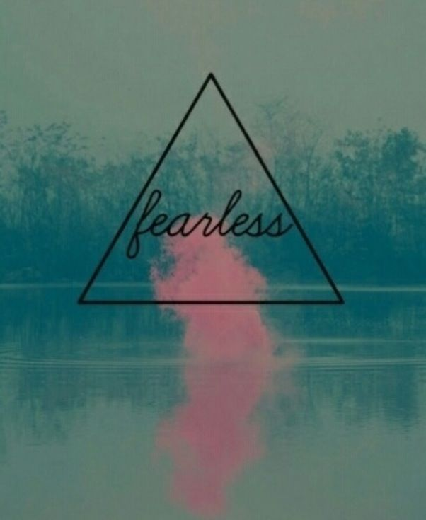 Yep, this is me #fearless