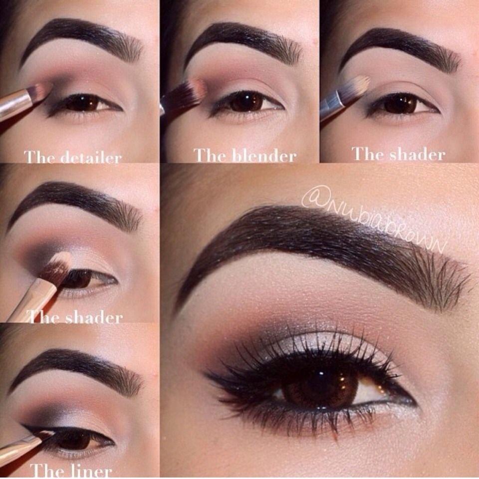 Neutral Smokey Eye (with Correct Brushes To Use) | Make up ...