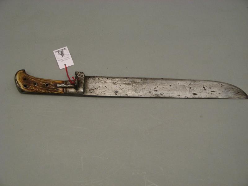 Jagdmesser, deutsch um 1600 - Objekt Nr. 549
