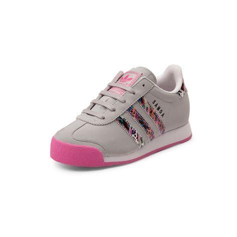 adidas samoa gris con rosado