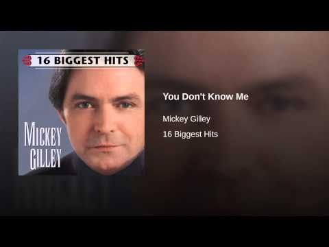 You Don't Know Me - YouTube