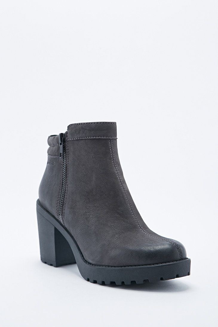 00f048adfd88 Vagabond Grace Padded Ankle Boots in Grey   Wardrobe   Pinterest ...