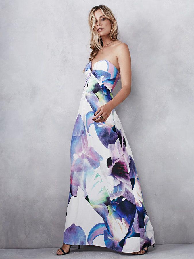 Free People Calyx Maxi Dress | Kleider, Blumenkleid lang ...