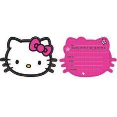 hello kitty invitation free printables 4 | hello kitty invitations, hello kitty birthday party