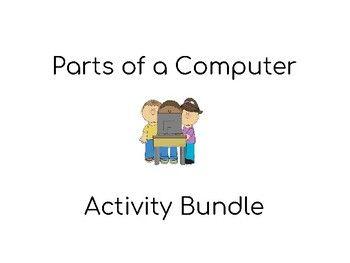 Parts of a Computer Activity BUNDLE! Computer Science Text