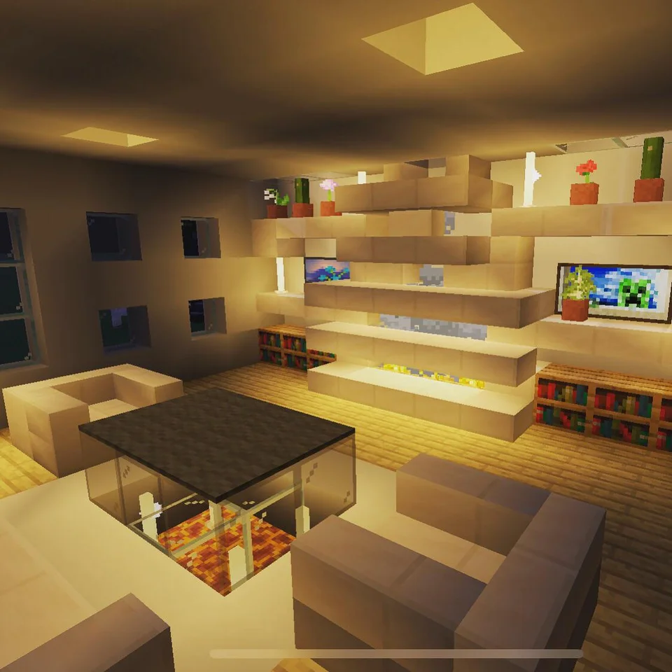 Simple modern idea for a chill room. Share ideas/feedback ...