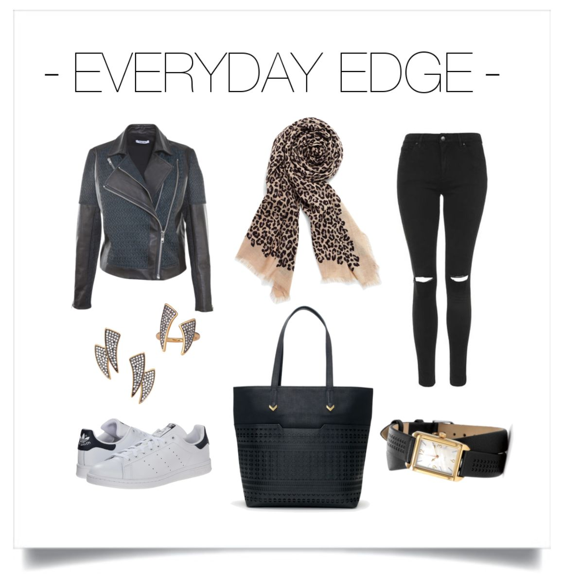 For the edgy gal...I am so eclectic!