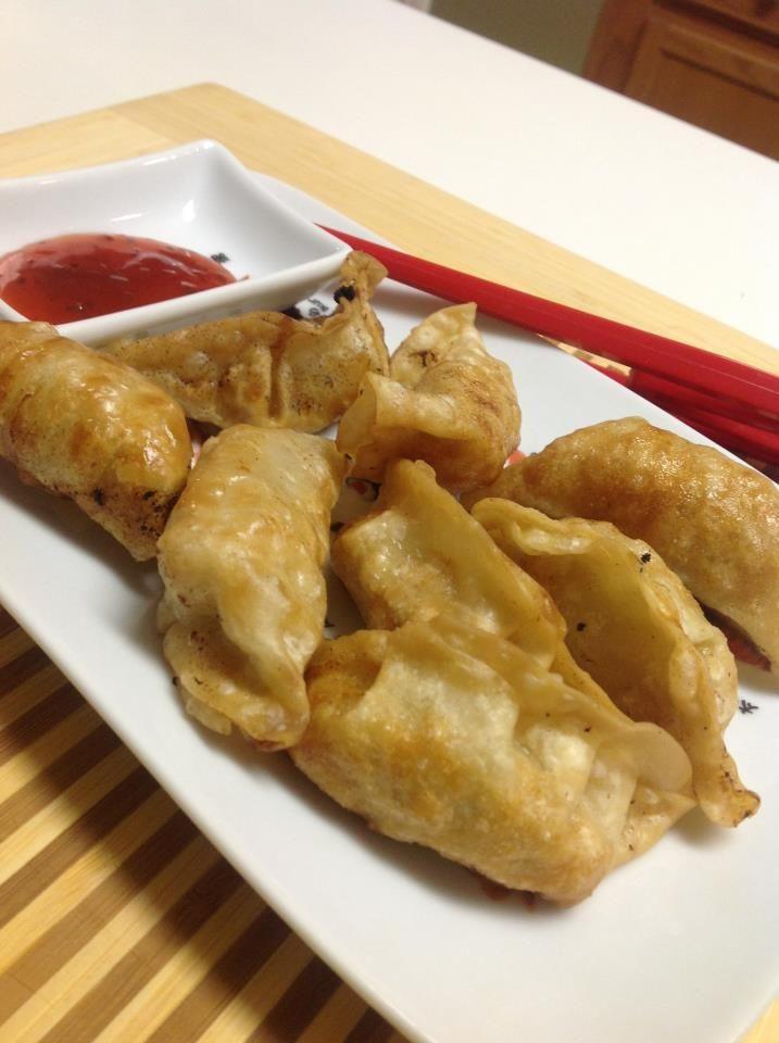 Chicken and Vegetable Dumplings