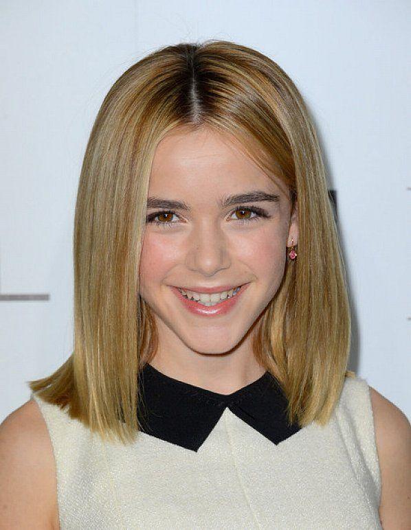 shoulder length hair little girl