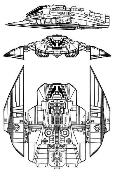 Cylon Raider Recon Model From Battlestar Galactica Best