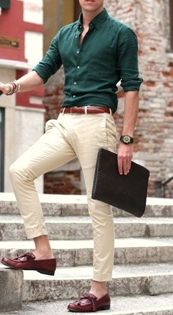 de4219faad0 40 Easy and Sexy Outfit Ideas on Mens Capri Pants