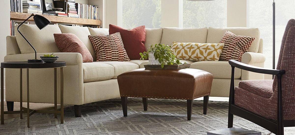 small lshaped sectional  living room arrangements