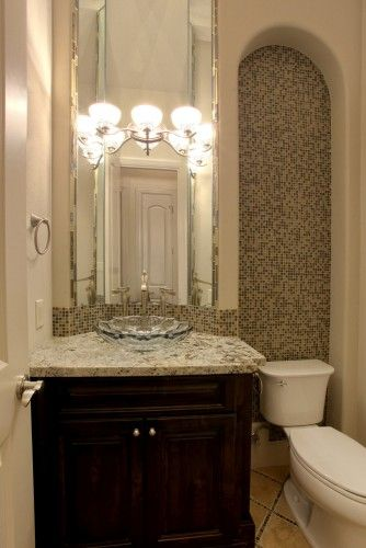 traditional bathroom by Croix Custom Homes