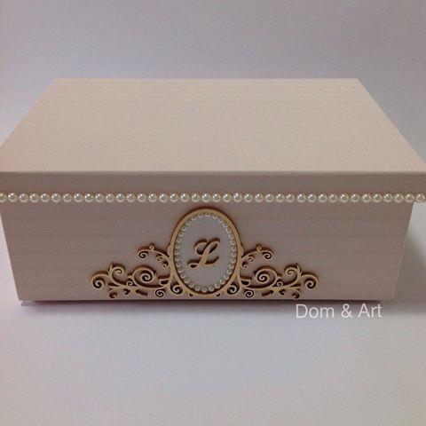 2aa1f5681c8 Caixa personalizada! Revestida com papel de parede