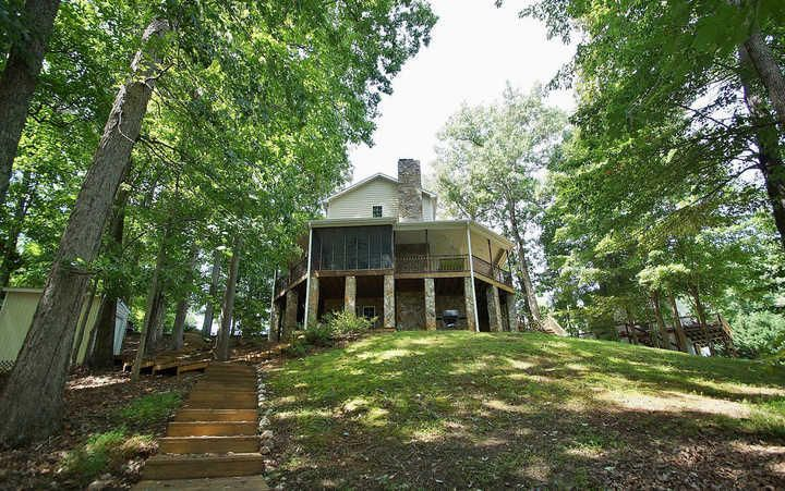 smith lake homes for sale waterfront