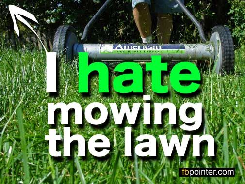 mowing quotes | hate mowing the lawn | quotes | Pinterest | Timeline ...