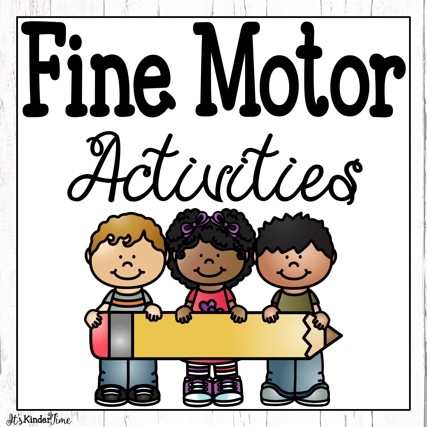 Pin By It S Kinder Time On Fine Motor Skills With Images