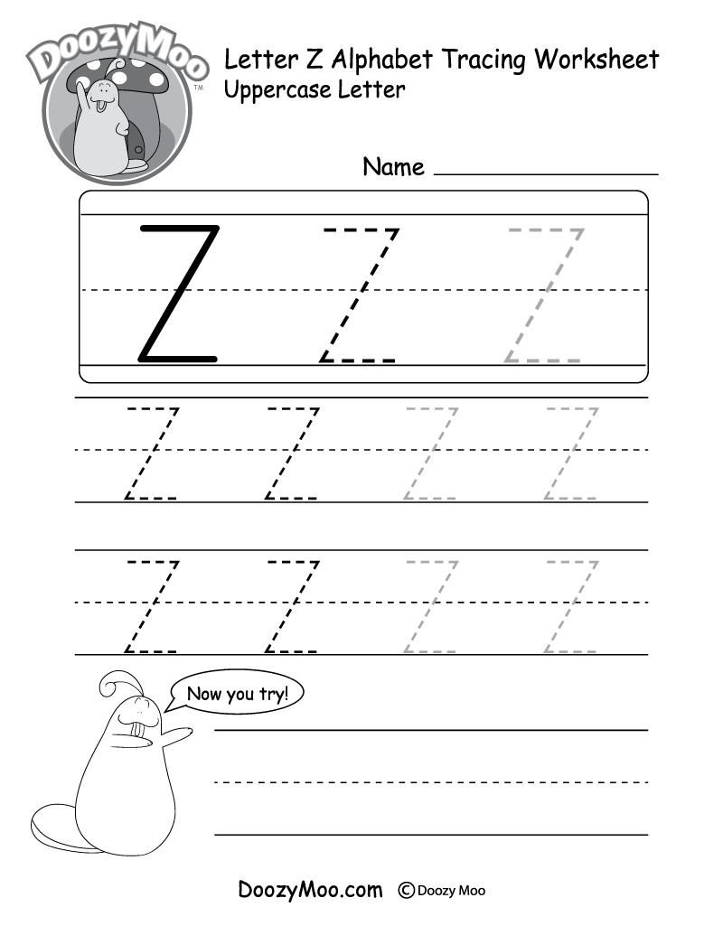 Fine Free Alphabet Tracing Worksheets A To Z that you must