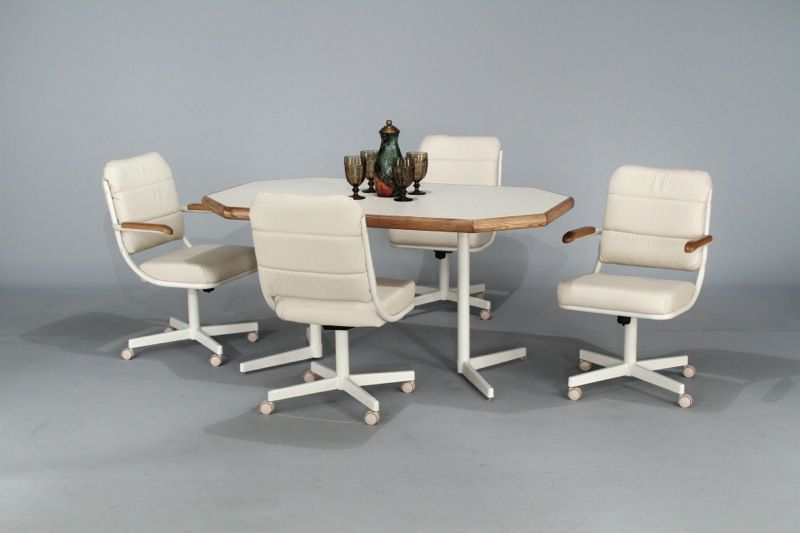 Kitchen Chairs With Rollers Kitchentoday Kitchen Table